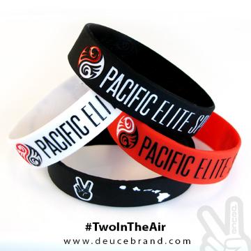 Deuce Brand custom silicone bracelets