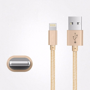 iPhone Charger - 4' Braided Lightning Cable
