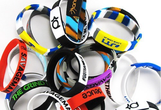 The professor basketball silicone wristband