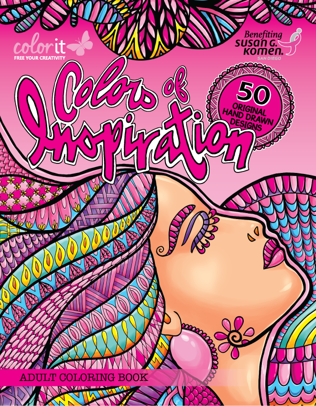 Colors of Inspiration Coloring Book