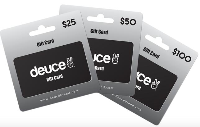 Deuce Brand gift card