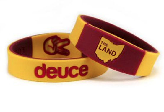 Deuce brand the land basketball wristband