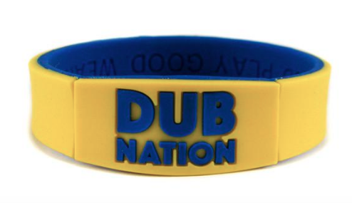 Deuce brand dub nation wristband