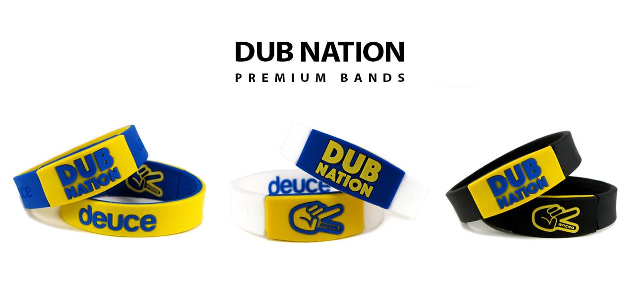 Dub Nation Deuce Brand wristband