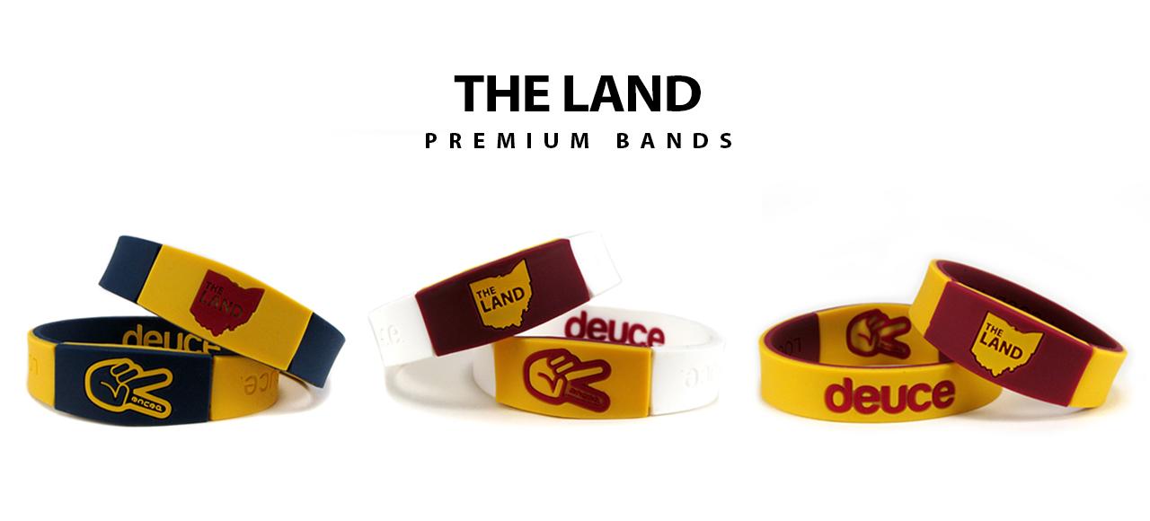 The land nba wristband