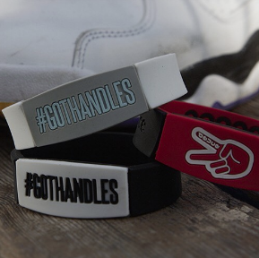 deuce brand x the professor #gothandles silicone band