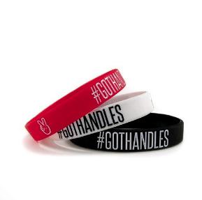 Deuce Brand silicone wrist bracelets