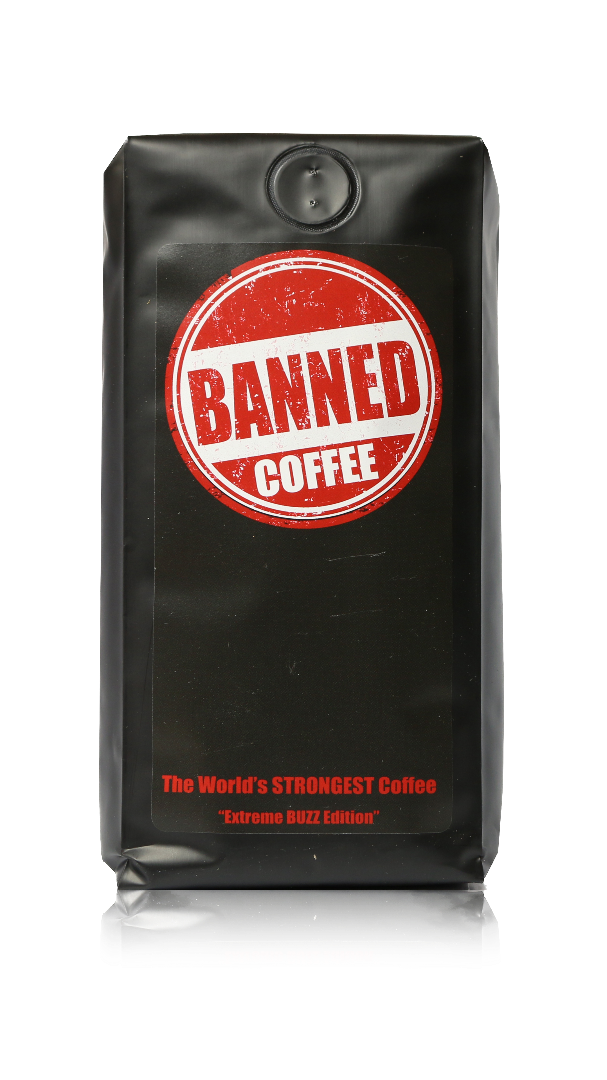 Banned Coffee 10% off