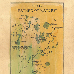 039 Father of Waters 1887 Mississippi River
