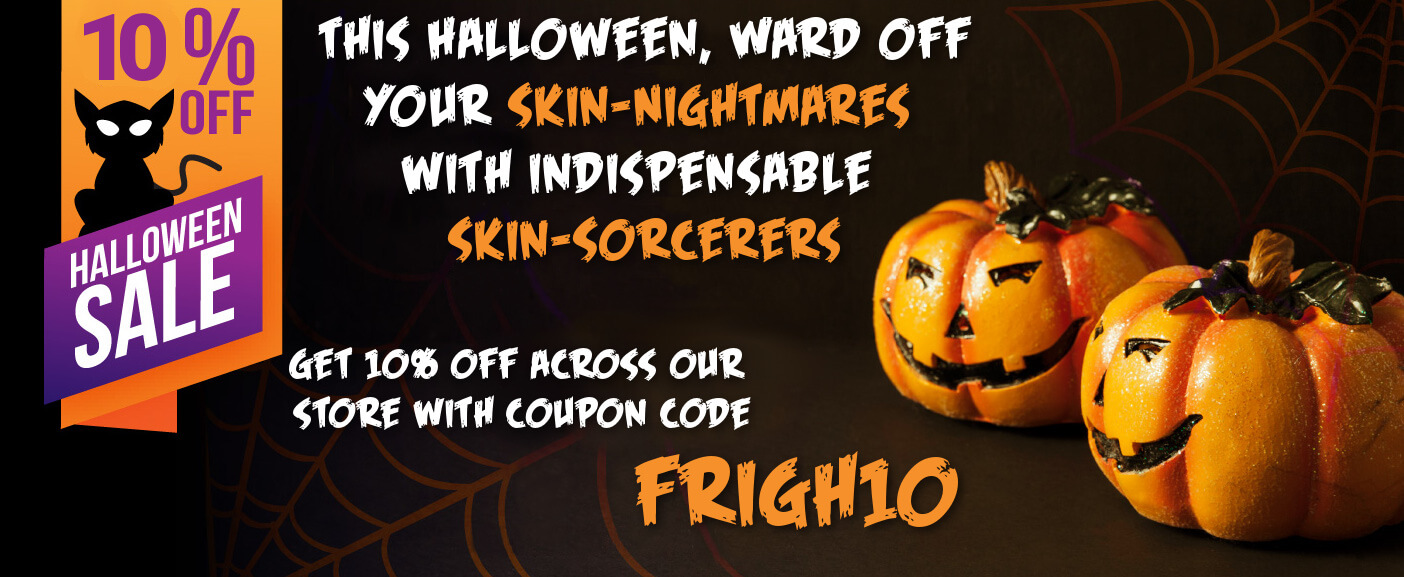 This Halloween, Ward off your Skin-Nightmares with Indispensable Skin-Sorcerers