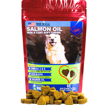 Salmon Oil Treats for Dogs