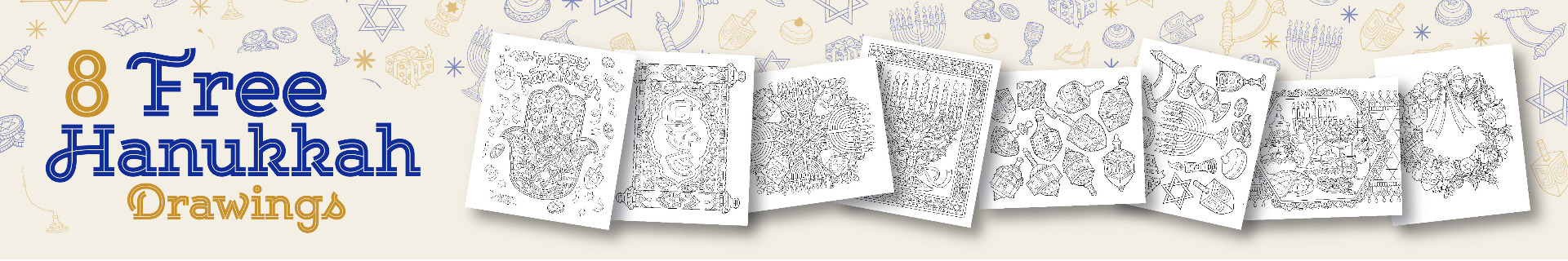 ColorIt Free Hanukkah Downloads