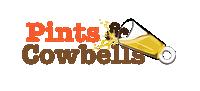 Pints & Cowbells Logo