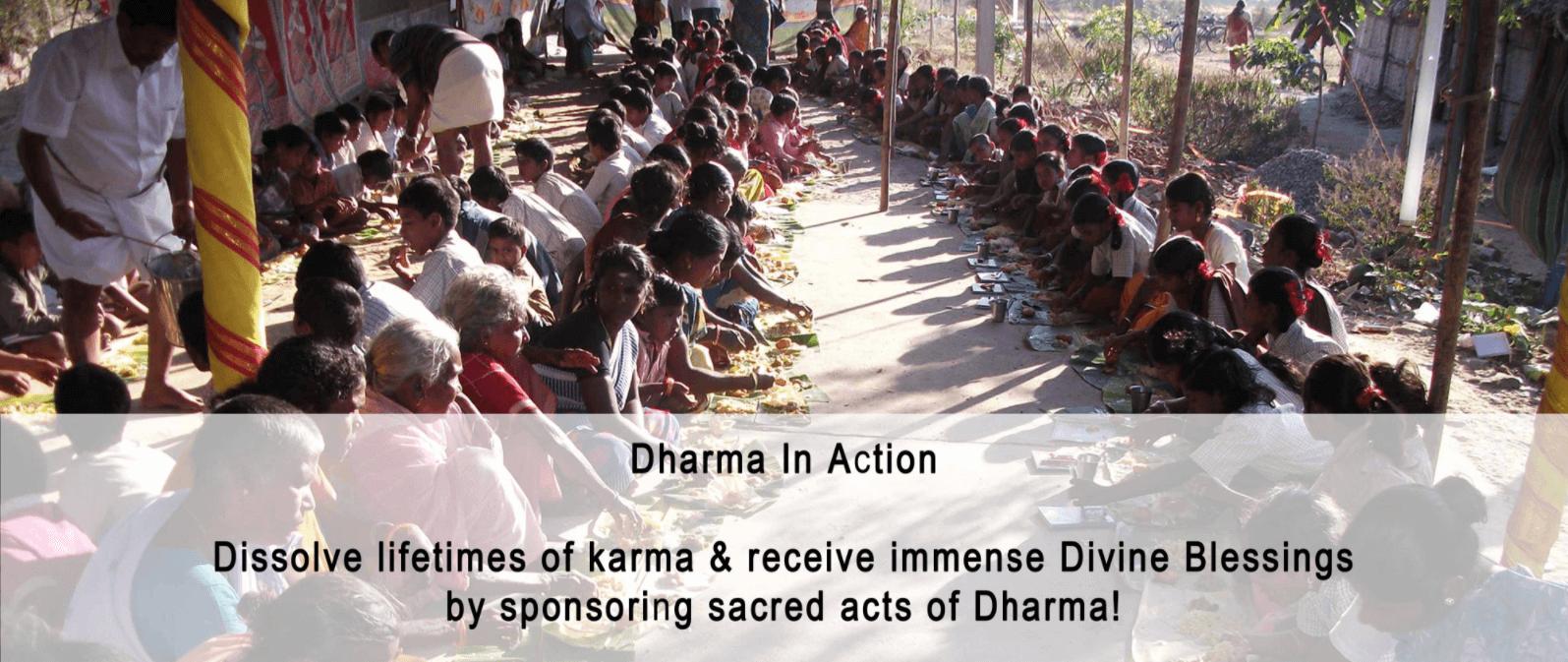 Annadharma dissolves karma