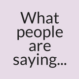 What People Are Saying...