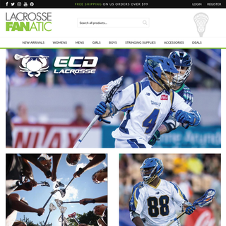 Lacrosse Fanatics - Sporting good shop