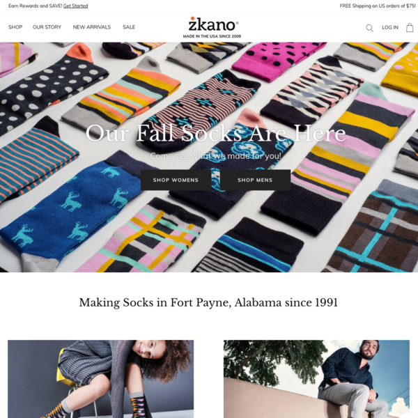 zkano socks - organic sock maker