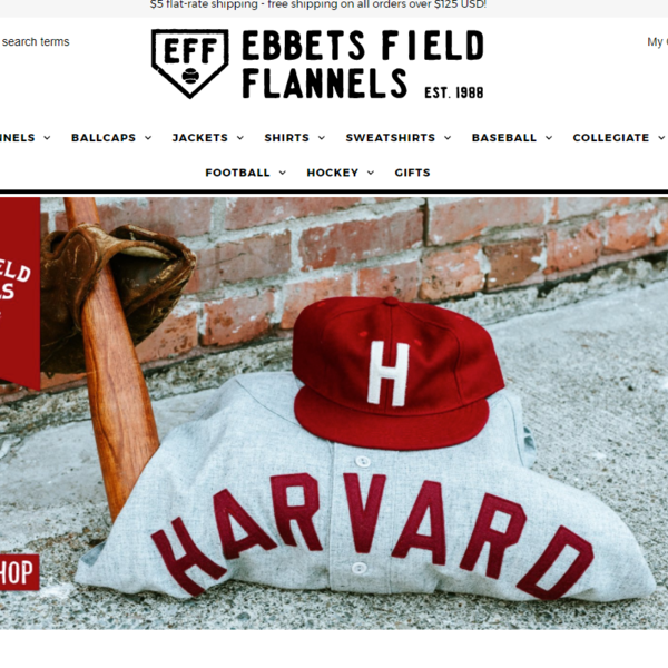 Ebbets Field Flannels - Throwback Jerseys and Ballcaps