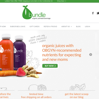 Bundle Organics - Shopify w/ Warehouse / Fulfillment Center integration.
