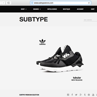 Subtype Shoes Online Store
