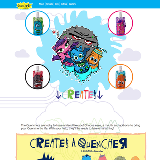 Kids game and ecommerce website design