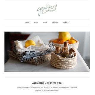 Geraldine Cooks