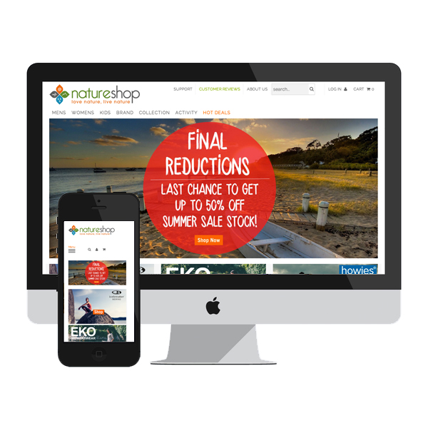Nature Shop UK - Site enhancements, consultation and design improvements