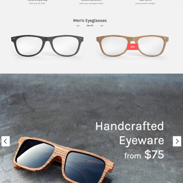 Symmetry responsive Shopify theme