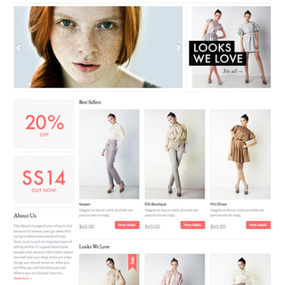 Expression responsive Shopify theme
