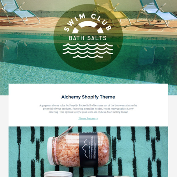Alchemy responsive Shopify theme