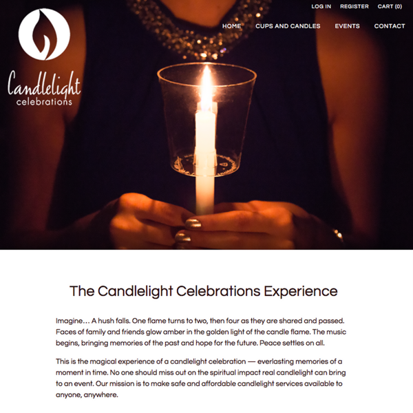 candlelight celebrations home page