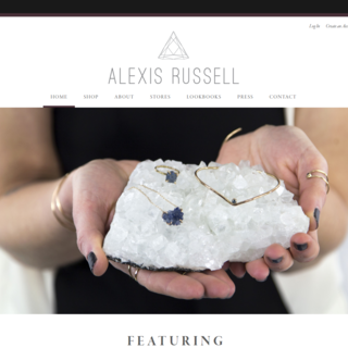 Alexis Russell Homepage