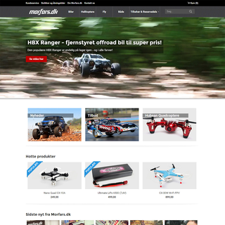 Morfars.dk website