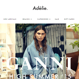 Adelie website