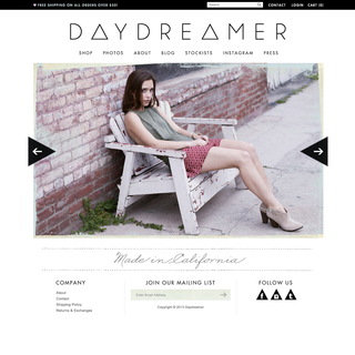 Bohemi+Chic - Ecommerce Designer / Developer / Photographer / Setup Expert - Daydreamer LA : http://daydreamerla.com/