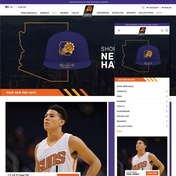 Official Phoenix Suns Store :: shop.suns.com