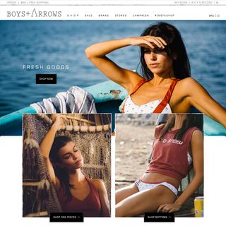 Boys + Arrows :: boysandarrows.com