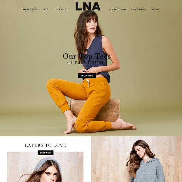LNA Clothing :: lnaclothing.com