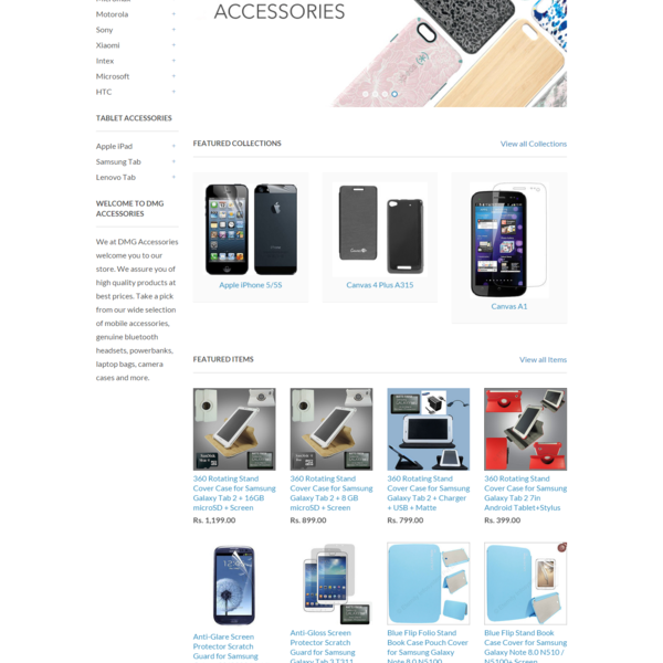 Shopify Mobile Accessories Store