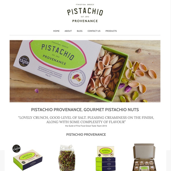 Pistachio Provenance