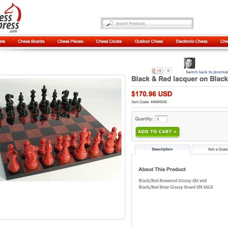 ChessToImpress.com is a premium chessboard website selling chess boards and pieces.