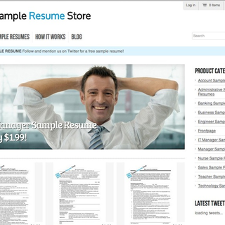 SimpleTiger LLC - Ecommerce Marketer - We've helped clients like SampleResumeStore.com achieve more traffic through search using SEO.