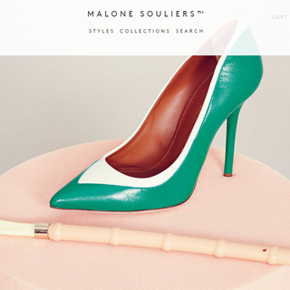 A Shopify Plus store for Malone Souliers - a luxurious London based shoe brand.