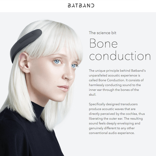 BATBAND - Elegant ear-free headphones