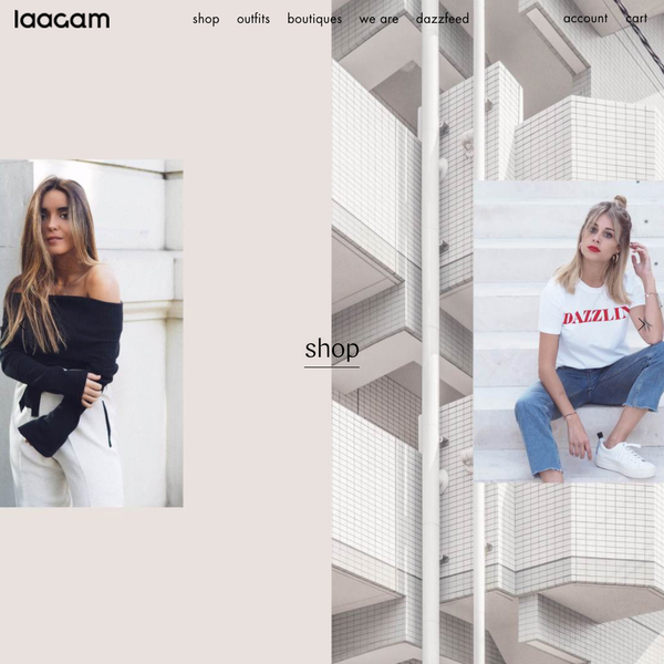 LAAGAM - a Barcelona based fashion brand. All items designed and made in Europe.