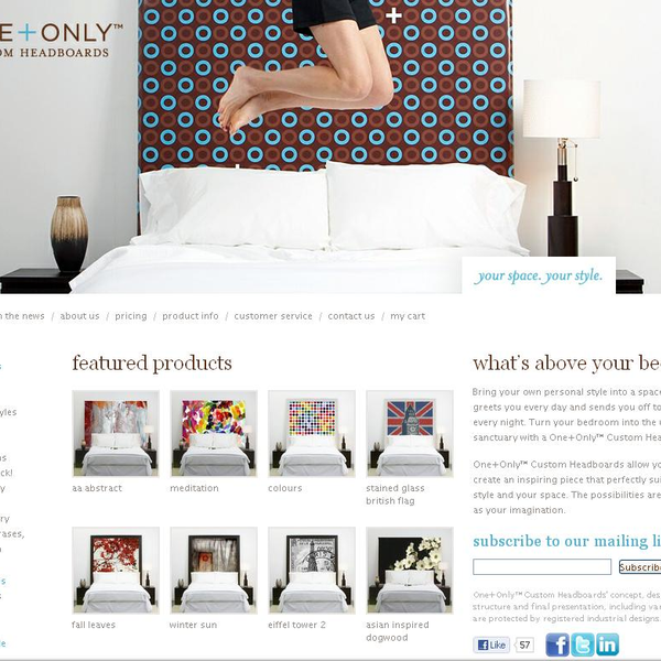 Only and Only One Headboards