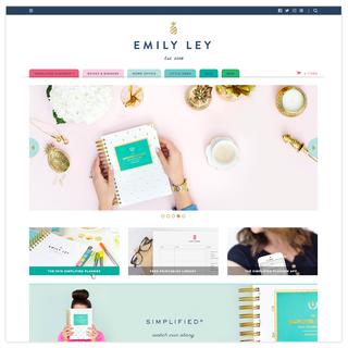 Hardage & Hardage - Ecommerce Designer / Developer - Emily Ley