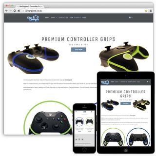 GetGripped.co.uk - Shopify Theme Customisations, Product Photography
