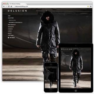 DelusionClothing.com - Migration (Wordpress to Shopify), Theme Customisation