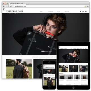 Forbes & Lewis - Migration (Magento to Shopify), Consultation, Theme Customisation, Marketing